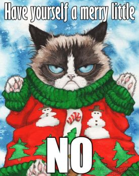 Grumpy Cat's Ugly Sweater, the Meme by MistiqueStudio