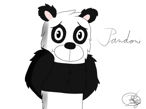 OC-Pandoni-First Design by IliGF12