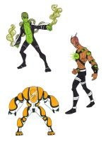 Ben 10 Super Soldiers 5 by kjmarch