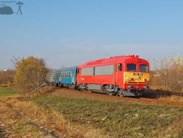418 108 -ex M41 2108- with passenger train in Gyor by morpheus880223