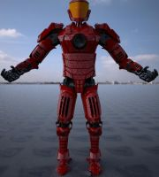Android Mech Soldier WIPc by cytherina