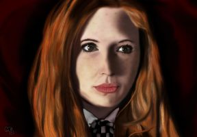 Amy Pond | Doctor Who | (Karen Gillan) by Mark-EG