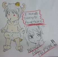 I Make Sheep Awesome by AskTheAwesomeMe