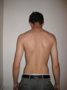 Stock - Male Back VIII by mousiestock
