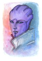 Aria T'Loak + Painting Video by RedixArt