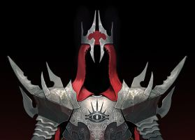 Lord of the Rings Witch King of Angmar Jeff Murchi by MURCHIEMONSTER