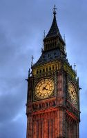 Big Ben in London by msun