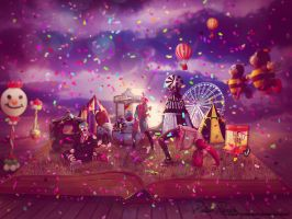 Circus by Renata-s-art