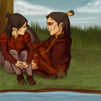 Zuko And His Turtleducks by sbrigs