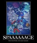Cave Story IN SPAAAAAACE (Motivational Poster) by xandermartin98