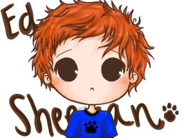 Ed Sheeran by AL11-scarlettt