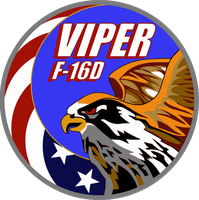 Viper F-16D Flight Insignia by viperaviator