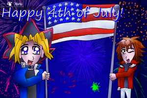 Happy Fourth by GameKing-Yuugi