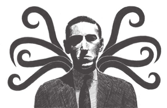 H.P. Lovecraft by OlyaWentz