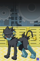 Living Suit of Luxray 4 + by sinrin8210