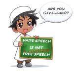 Free Speech -1 by Nayzak