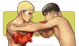 Erwin X Levi by shinypitcherplant