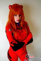 Asuka Langley Soryu cosplay by BabiSparrow