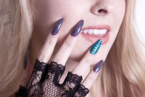 Japanese Couture Nails by HocusFocusLA