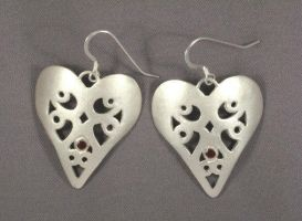 Pure Heart Earrings by GipsonDiamondJeweler