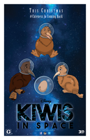 Kiwis In Space Movie Poster Project by daKisha