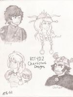 httyd2 characters by star-bite13