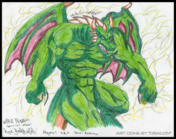 Green Dragon 2 by NR3
