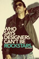Design Like a Rockstar by angelaacevedo