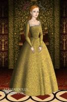 Queen Elizabeth I by Serenevie