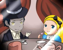 Request: Alice and Tyki by BaconLovingWizard