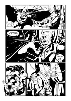 Batman Two Face Page 3 by Mike-Bunt
