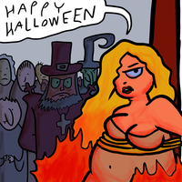 Rachel At The Witch Trial by EggHeadCheesyBird