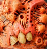 Teratoma cuff close up by dogzillalives