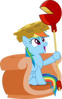 Dashie, Lady of Cheese by dasprid