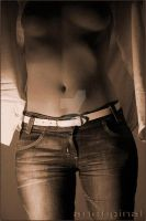 sepia torso by ArtOriginal