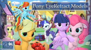 Pony EyeRefract Models by GLEBOSS