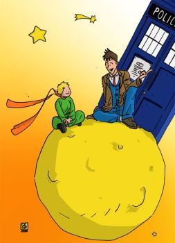 Petit Prince meets the Doctor by Geoffo-B