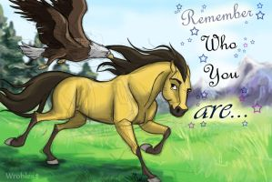 Remeber who you are by wrobles4