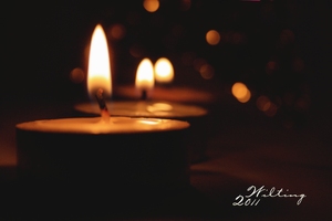 my Candles . . by W-ilting