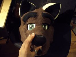 wolf partial WIP by theKatandtheBox