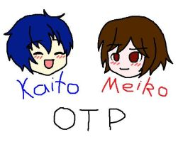 One True Pairing: Kaito/Meiko by TheWhiteJewel