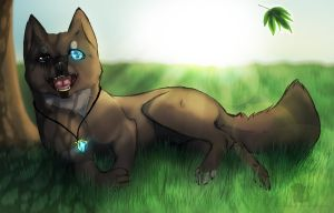 The legacy of one pup    7 Keys character~ by Skerppla
