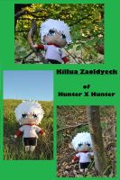 My Killua Plush by Nati-picciui