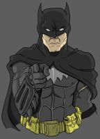 Hey Batman by Cannibal-Cartoonist