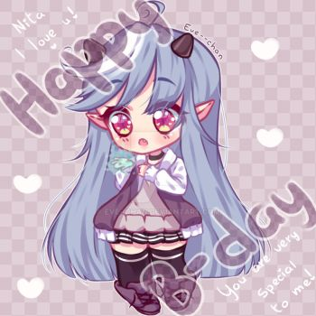 Nori - Happy B-day by Eve--chan