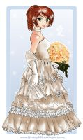 +Wedding Dress 2+ by kitsune999