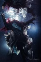 Ophelia Drowning by misspoisoncandy
