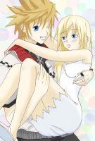 Roxas and Namine- Me and You by Blooming-Angel
