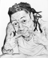 Lil' Wayne by ghettopants