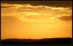 sunset one more by Titareco